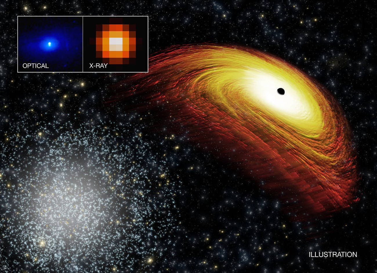 black holes NASA space