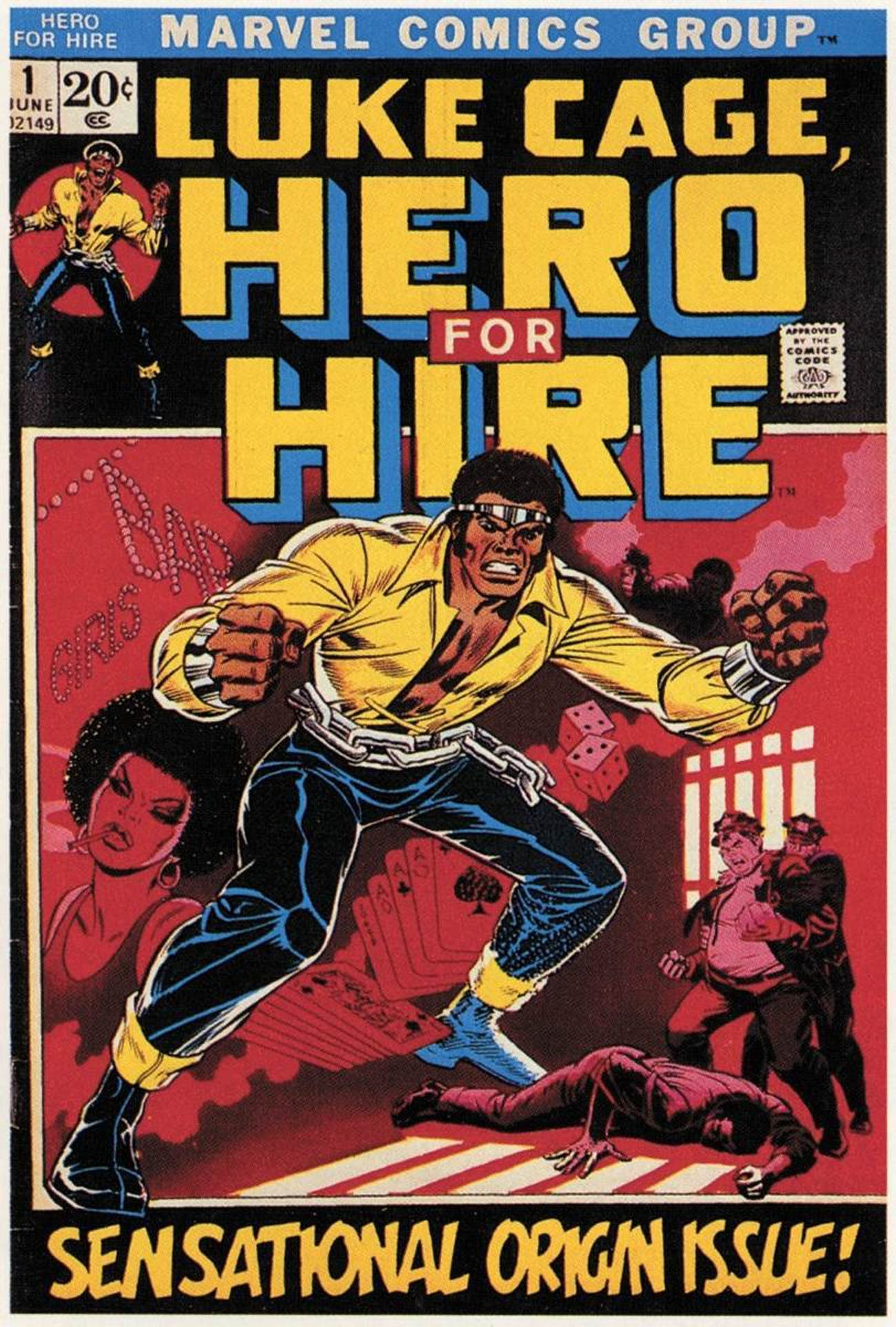 Marvel Luke Cage Comic Cover