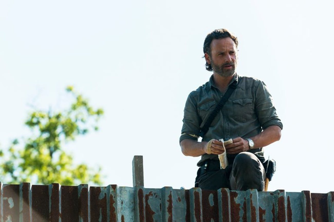 Rick Grimes is back in top form.