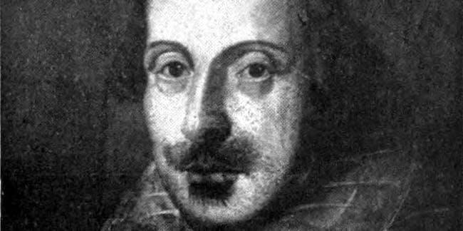 Britannica Shakespeare Flower Portrait