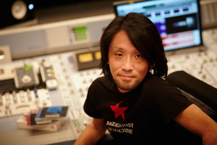 Soken-san is a Rage Against the Machine fan.