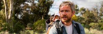Martin Freeman stars in 'Cargo', a tragic Netflix story about a father and his baby daughter in the zombie apocalypse.