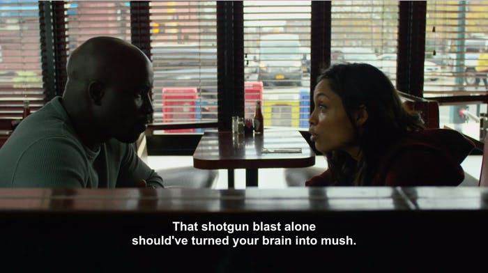 Netflix Luke Cage Claire Temple Jessica Jones Shotgun