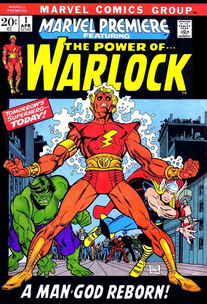 Adam Warlock Guardians of the Galaxy