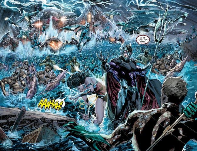 Ocean Master in DC's New 52 Comics