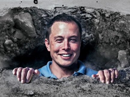 Elon Musk: Flying Cars Are Bad, So I'm Digging Tunnels Instead