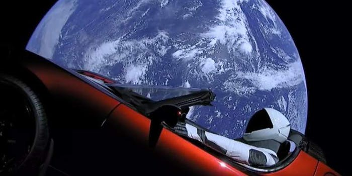 SpaceX starman