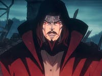 Dracula in Netflix's 'Castlevania' animated series.
