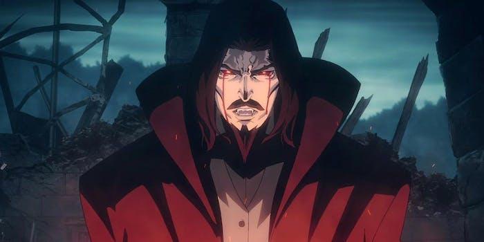 Dracula in Netflix's 'Castlevania' animated series.
