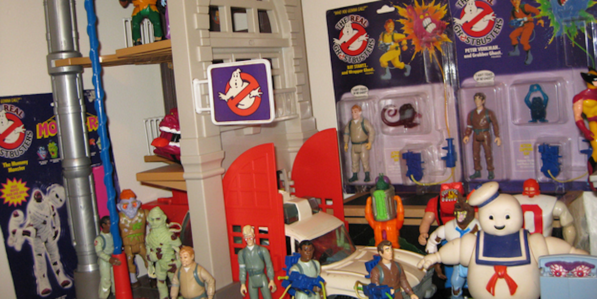 Best Ghostbuster Toys : The weirdest ghostbusters toys from s inverse