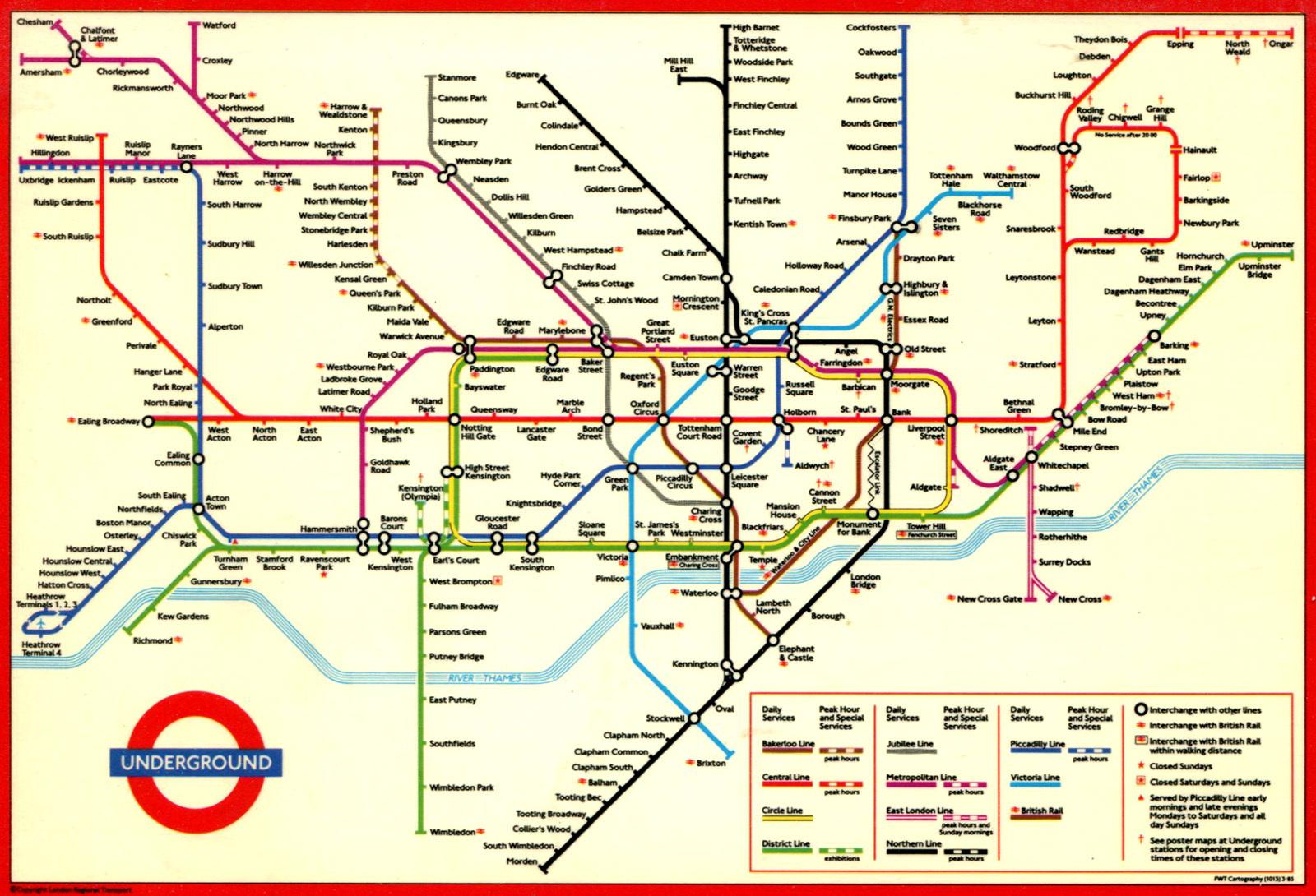 a side effect of londons bakerloo tube extension easier breathing inverse
