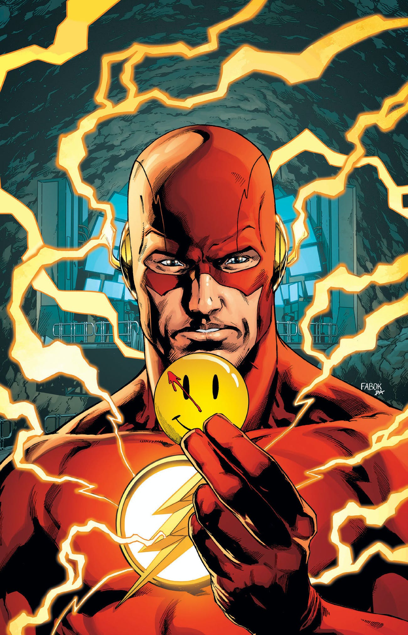 The Flash Watchmen Batman Rebirth