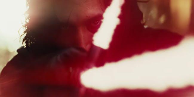 Kylo Ren Star Wars Scar