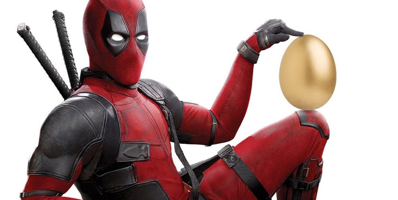 Deadpool Easter Egg
