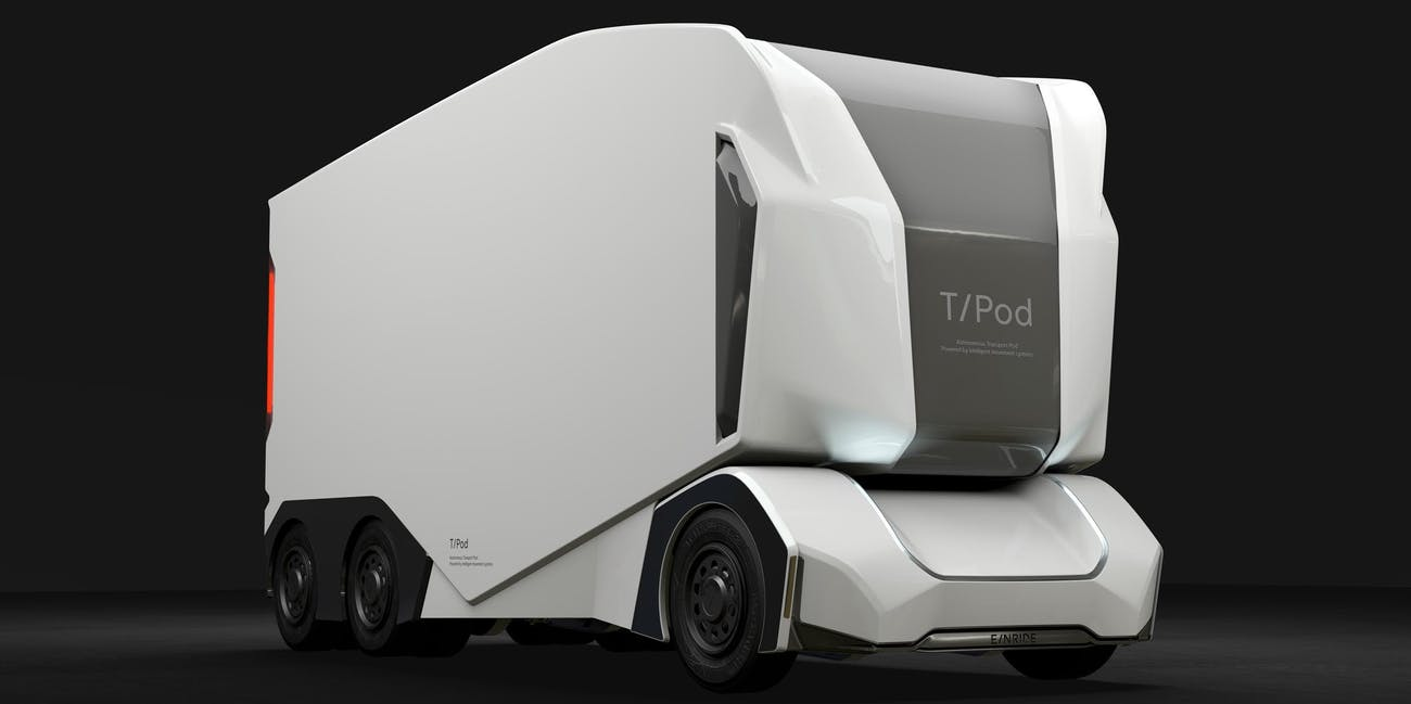 t pod autonomous truck