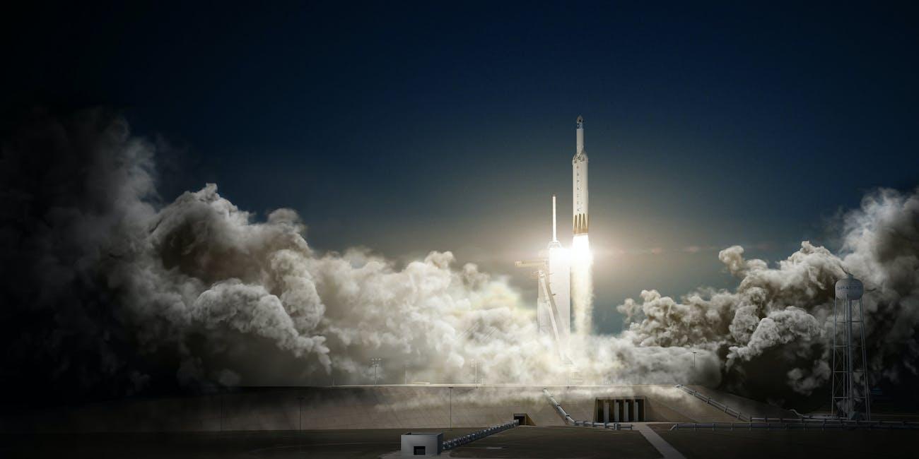 falcon heavy launch