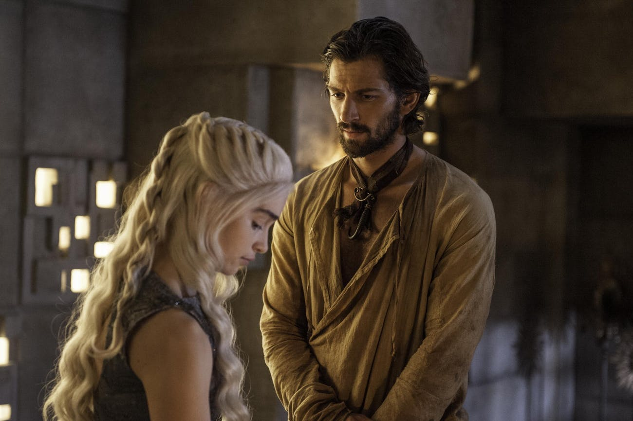 Daario was Daenerys' second lover that we now of.