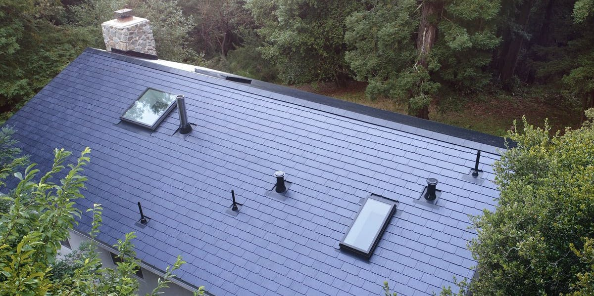 Tesla Solar Roof Images Of A New Installation Show Its
