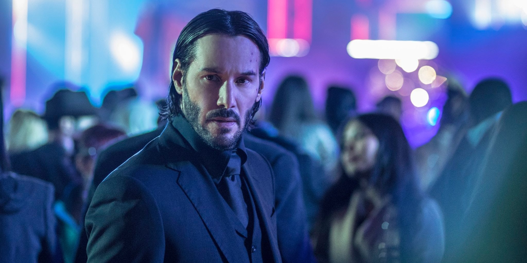 Keanu Reeves as John Wick in 'John Wick: Chapter Two'
