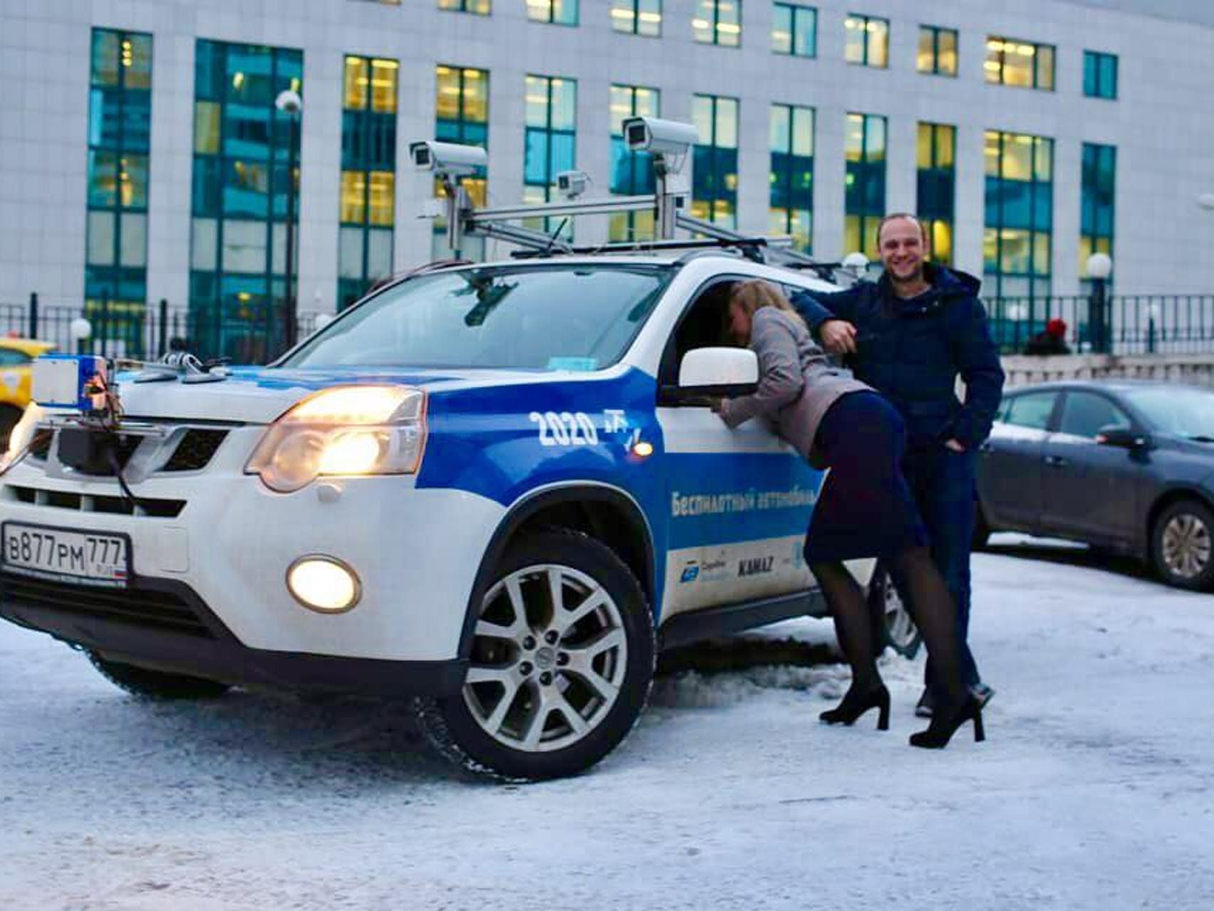 CES 2018: Russia's Biggest Self-Driving Car Project Set to Make