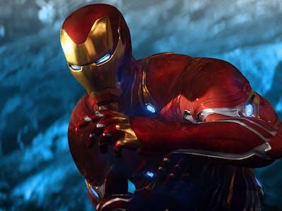 Robert Downey Jr. as Tony Stark/Iron Man in 'Infinity War'