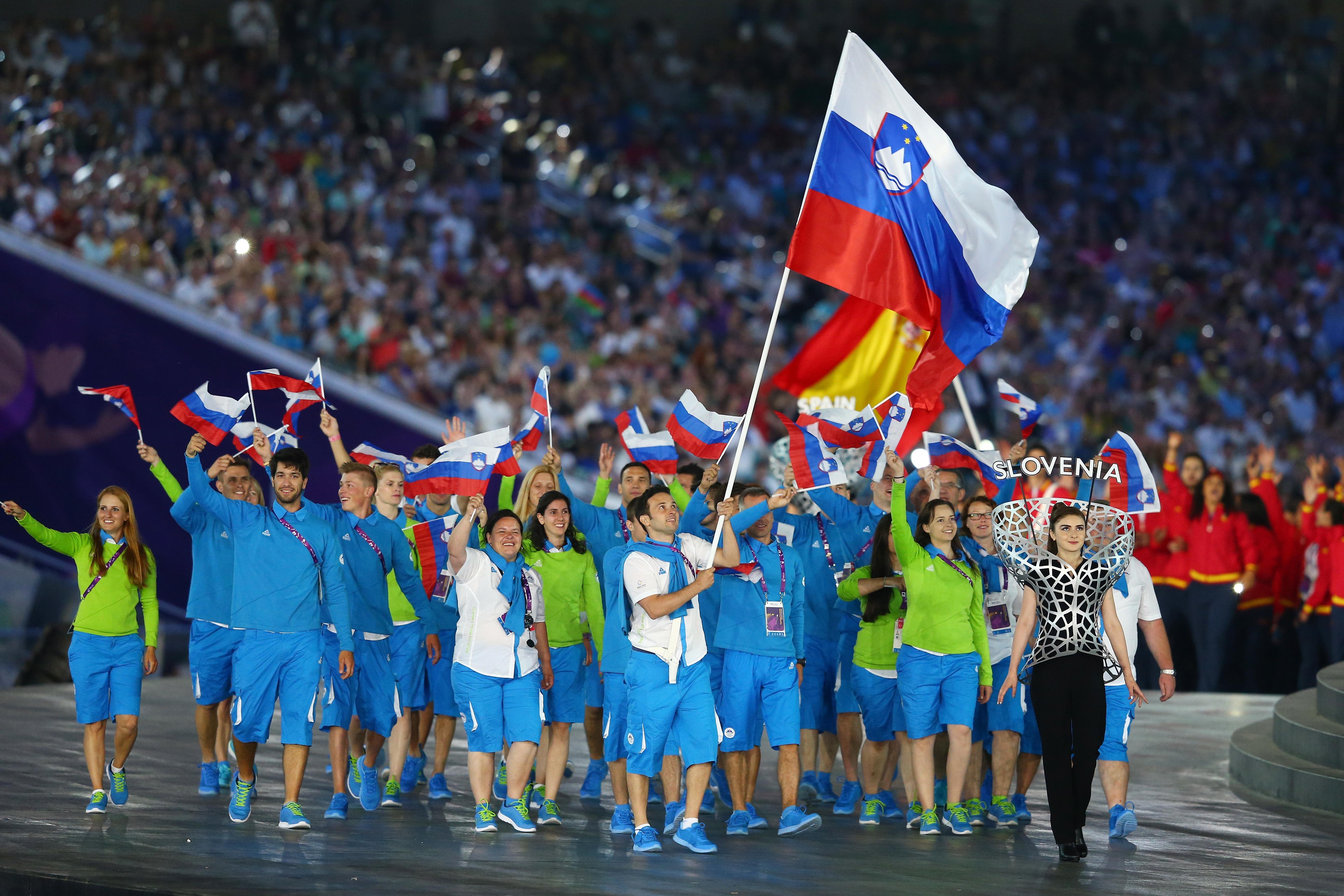 Slovenia at the Baku 2015 European Games.