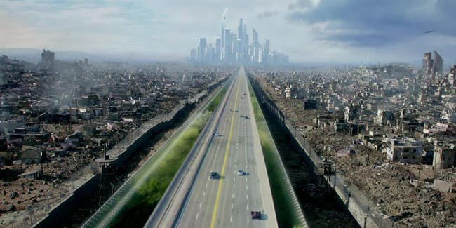 """Incorporated"" takes place in 2070."