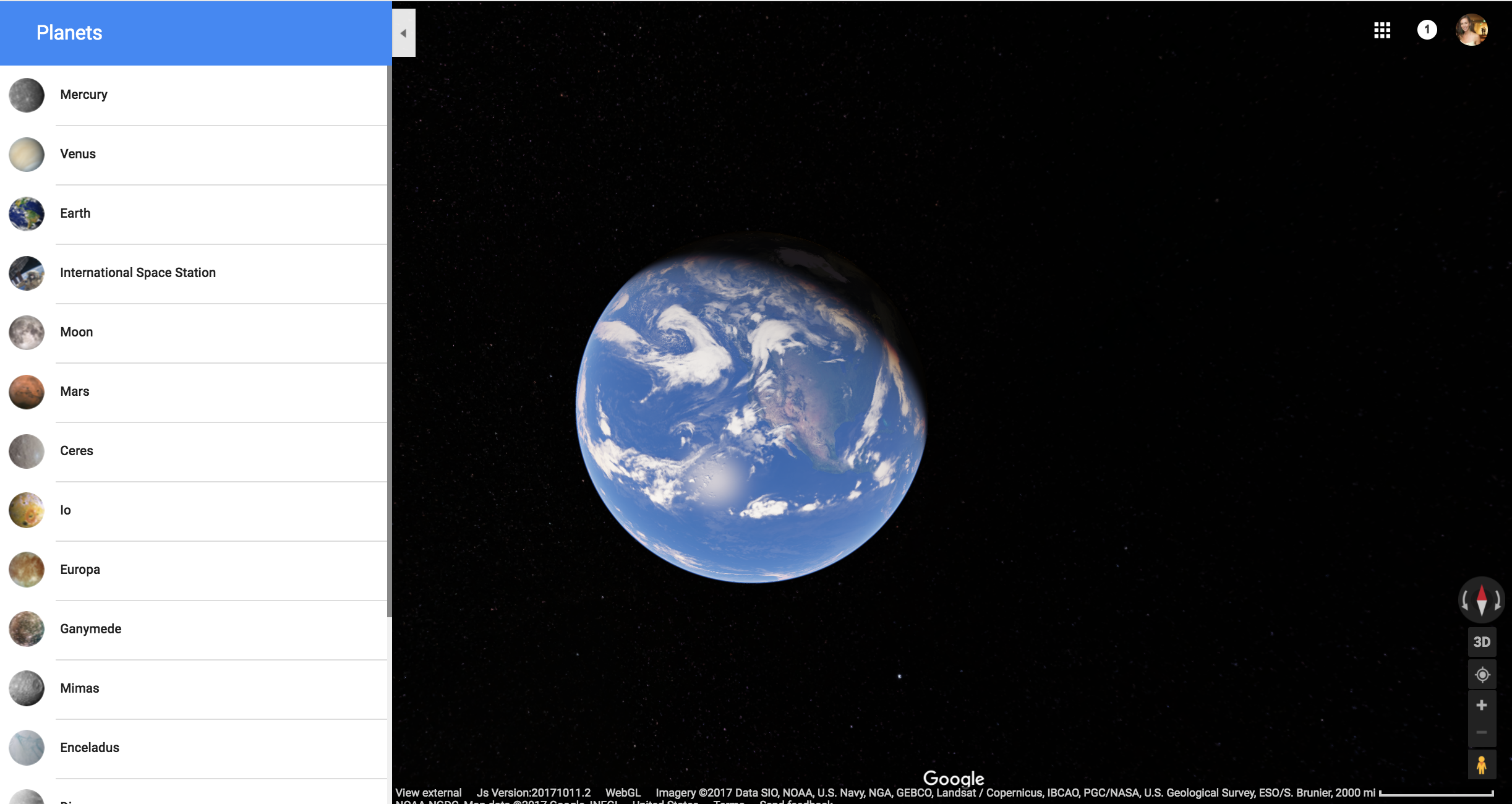 How to view satellite images on google earth