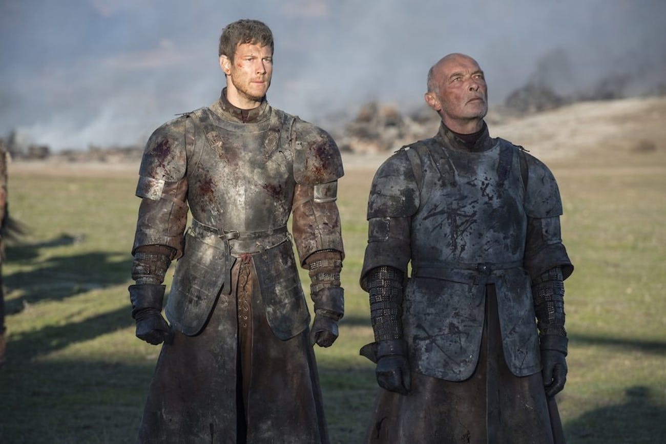 Dickon and Randyll Tarly are the last legitimate male heirs to the family dynasty.