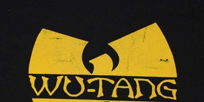 Wu-Tang Clan yellow W logo