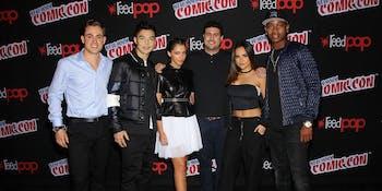 Power Rangers Movie 2017 Lionsgate New York Comic Con