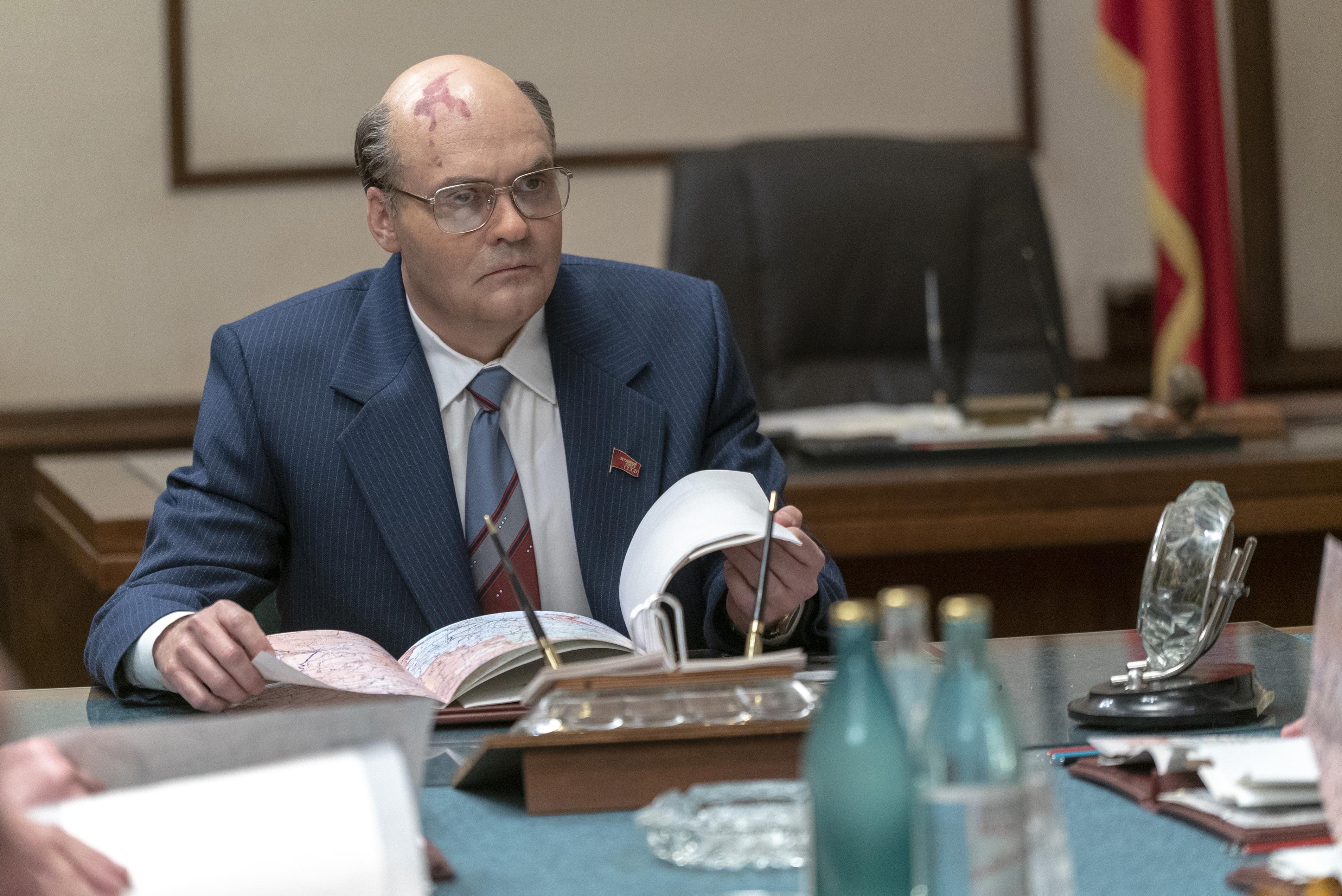 Resultado de imagem para chernobyl series gorbachev