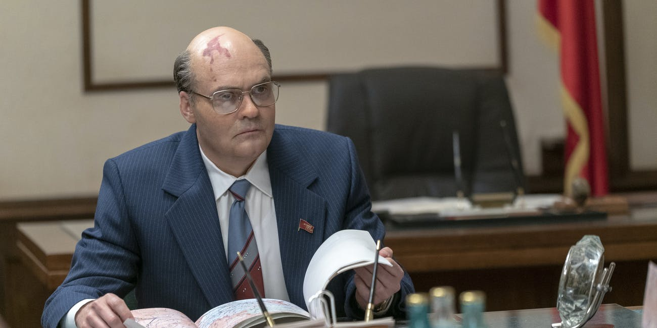 David Dencik as Michail Gorbatchev in 'Chernobyl' on HBO.