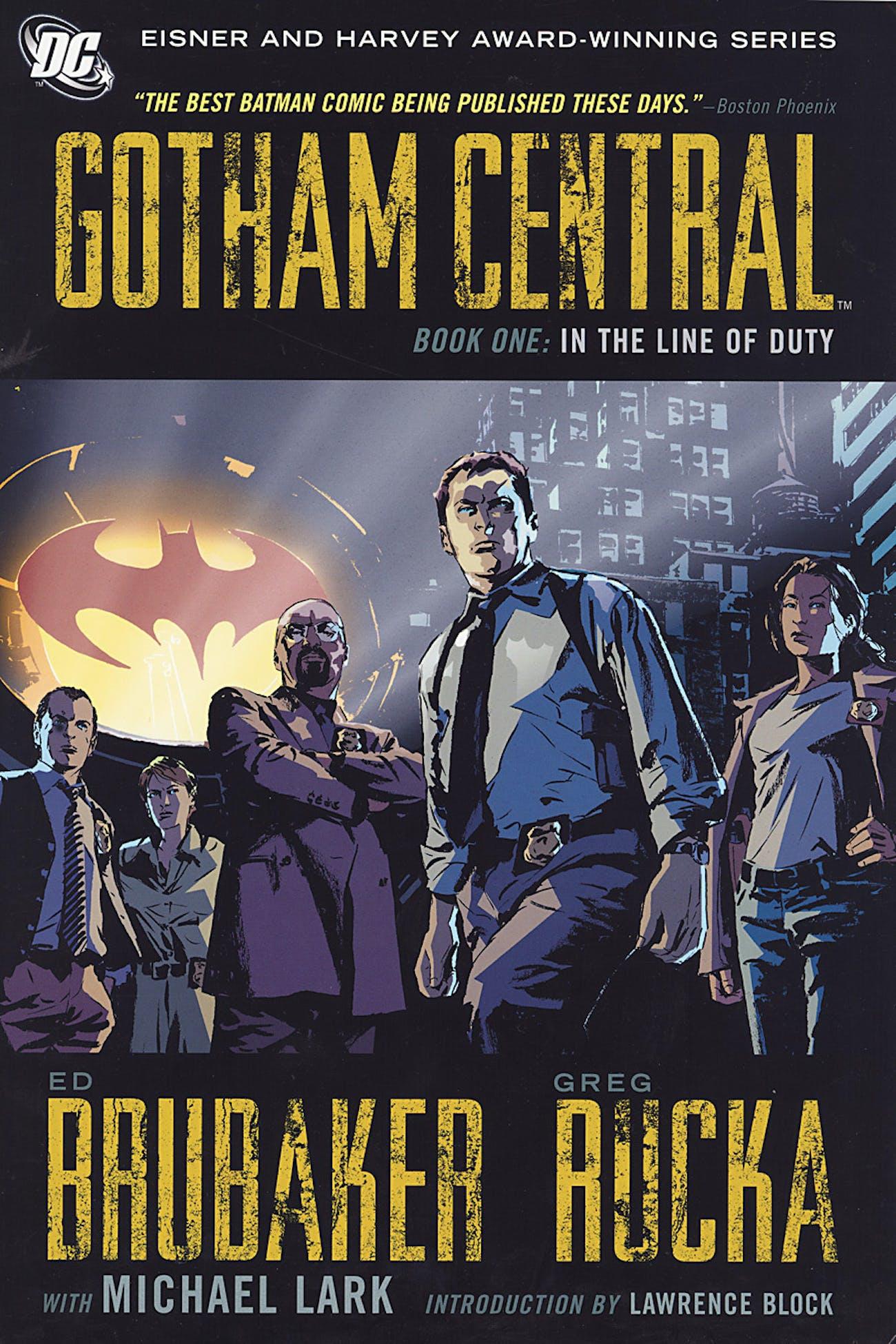 gotham central dc powerless