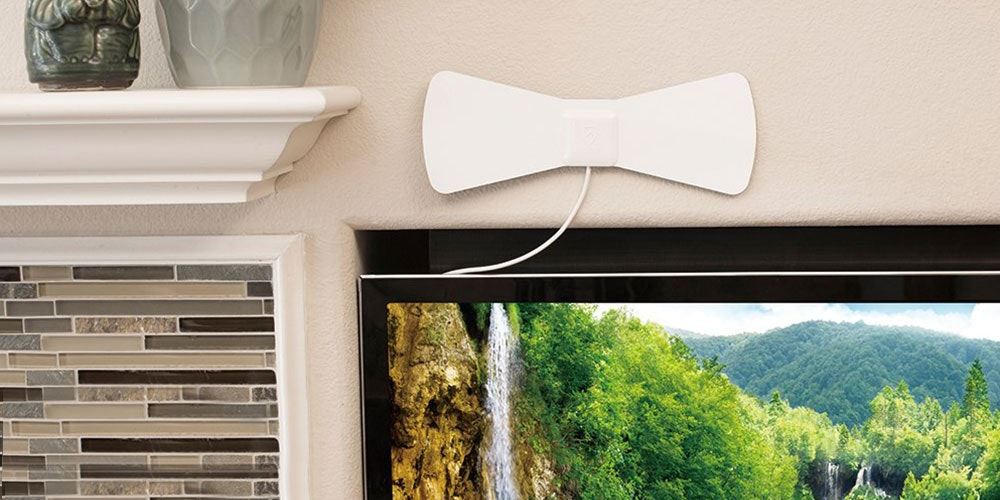 This Sleek Over-the-Air HD Antenna Is What Would Happen if Rabbit Ears Looked Good