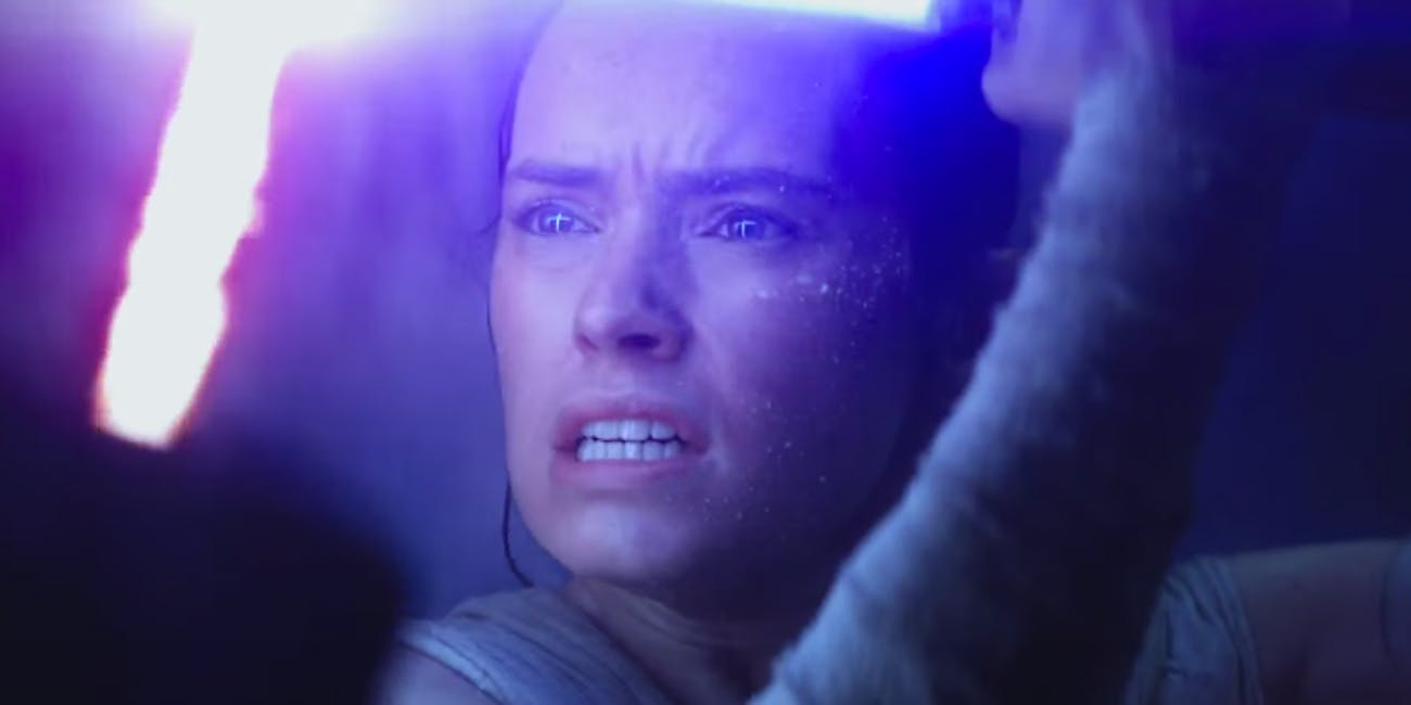 Rey in 'Star Wars: The Force Awakens'
