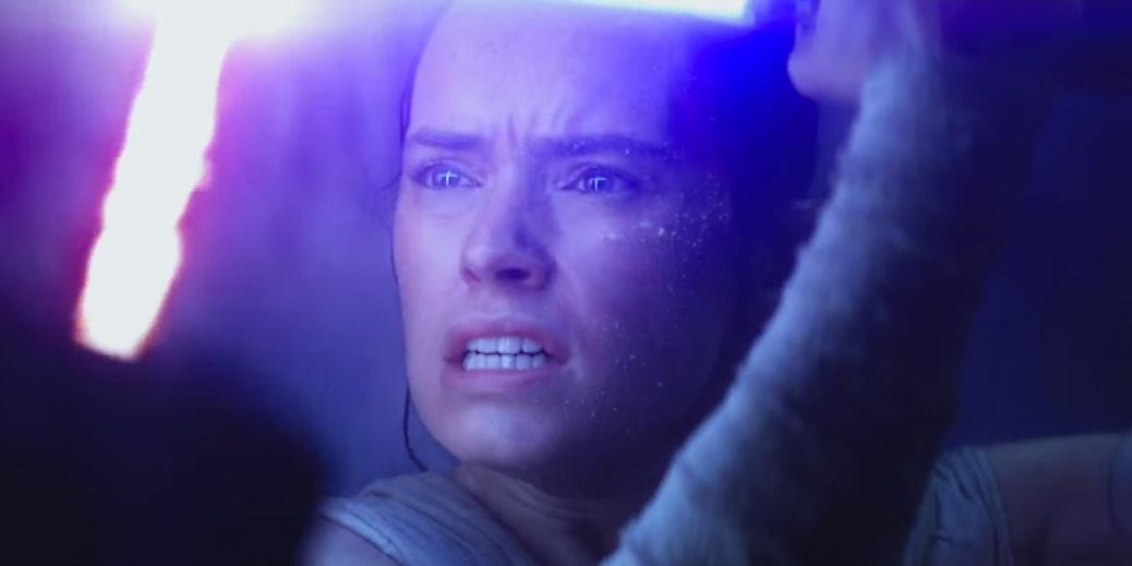 Rey in 'Star Wars: The Force Awakens'