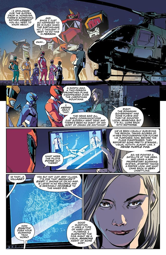 Grace Sterling Power Rangers