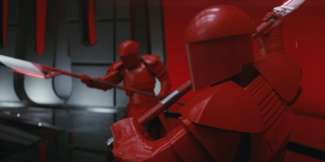 Last Jedi Red Soldier