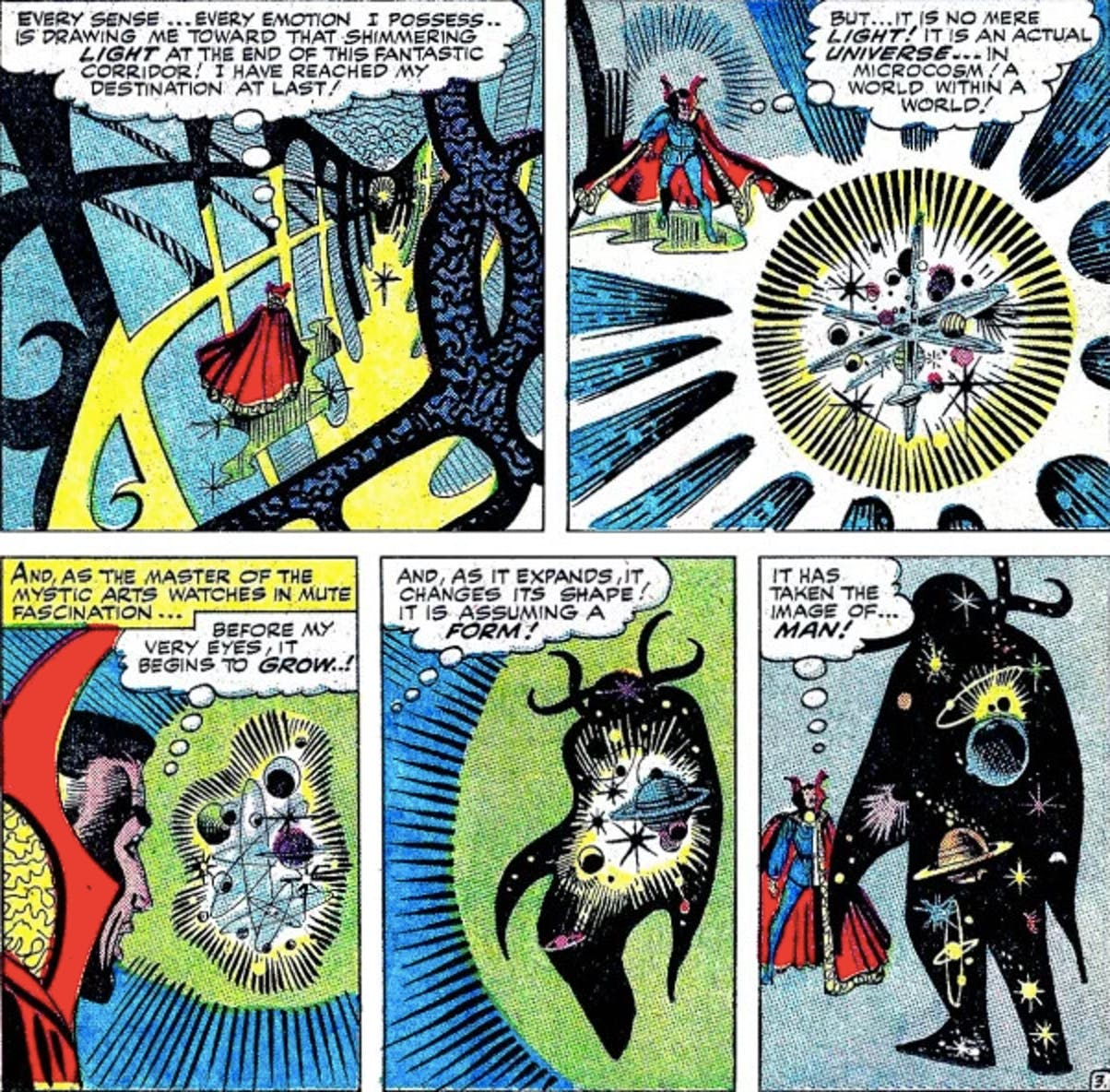 doctor strange eternity