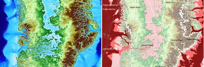 New nasa maps have very bad news for greenlands melting glaciers new nasa maps have very bad news for greenland sciox Image collections