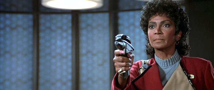 """This isn't reality. This is FANTASY."" - Uhura in 'Star Trek III: The Search or Spock'"