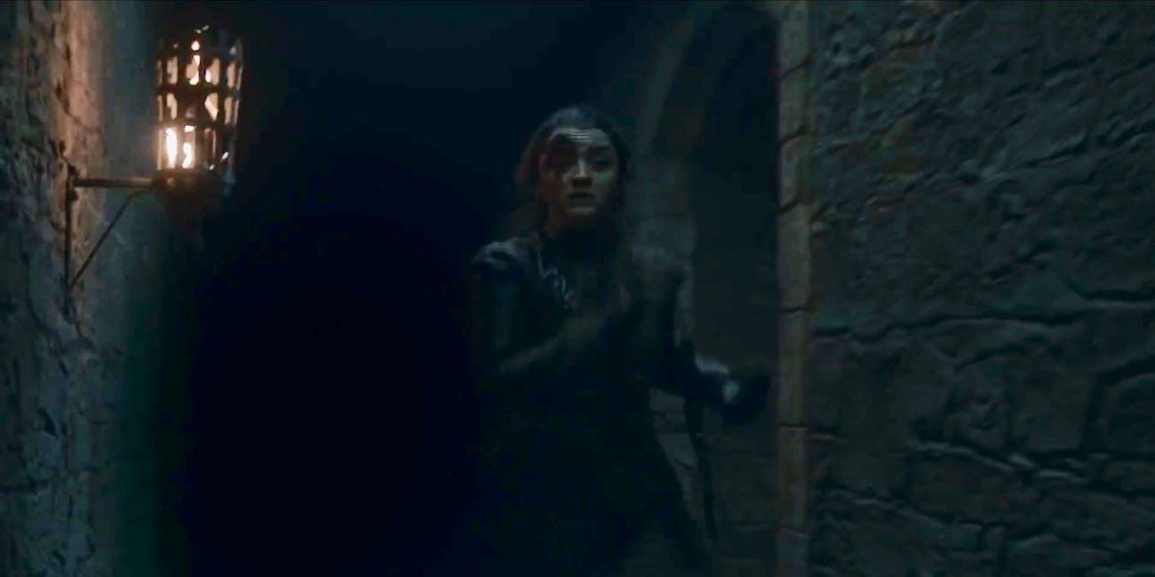 arya game of thrones stark maisie williams season 8 trailer