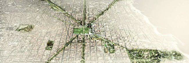 Barcelona tree map