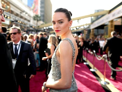 Watch Daisy Ridley Practice Her Lightsaber Skills