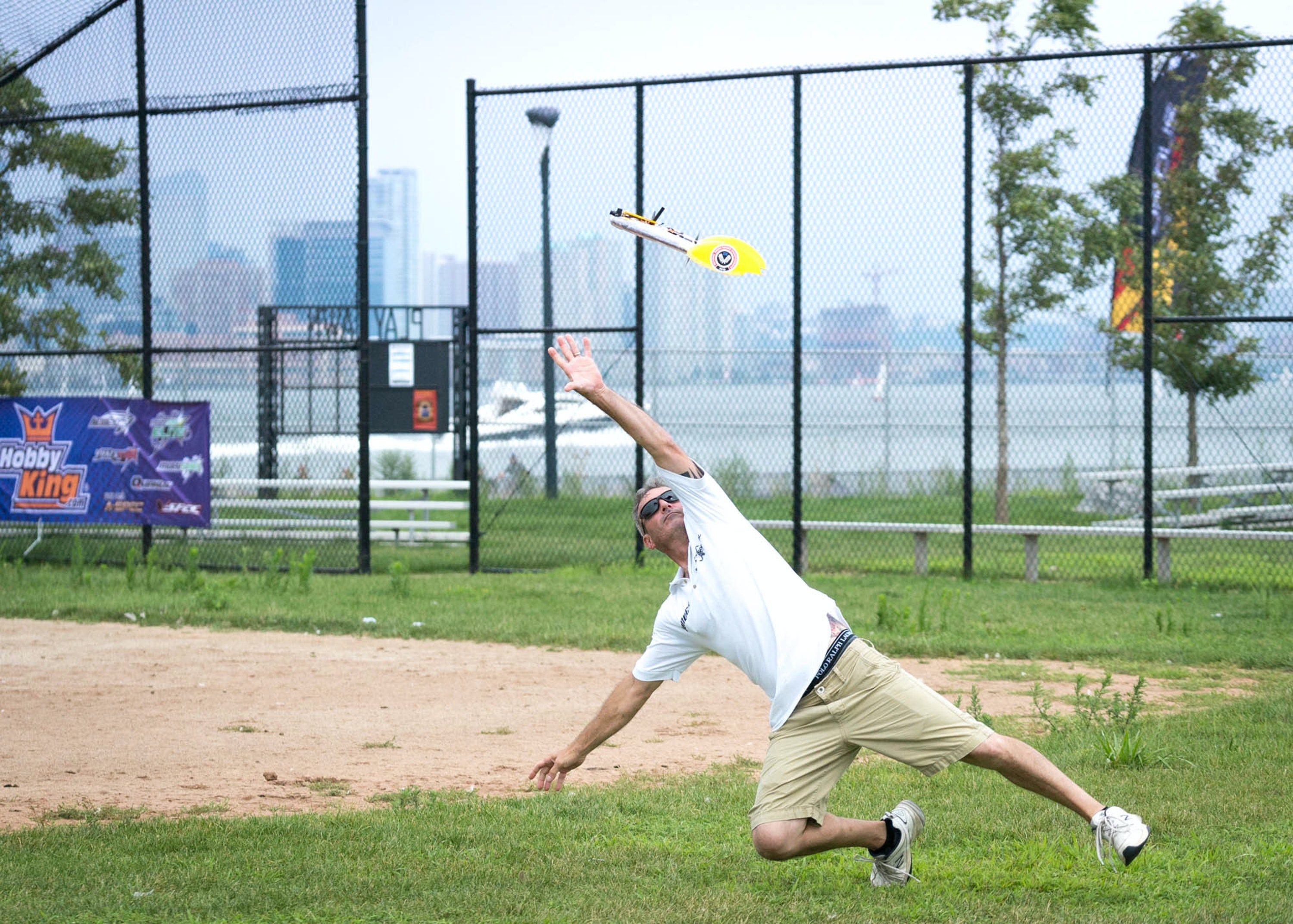 The perfect toss takes dedication.
