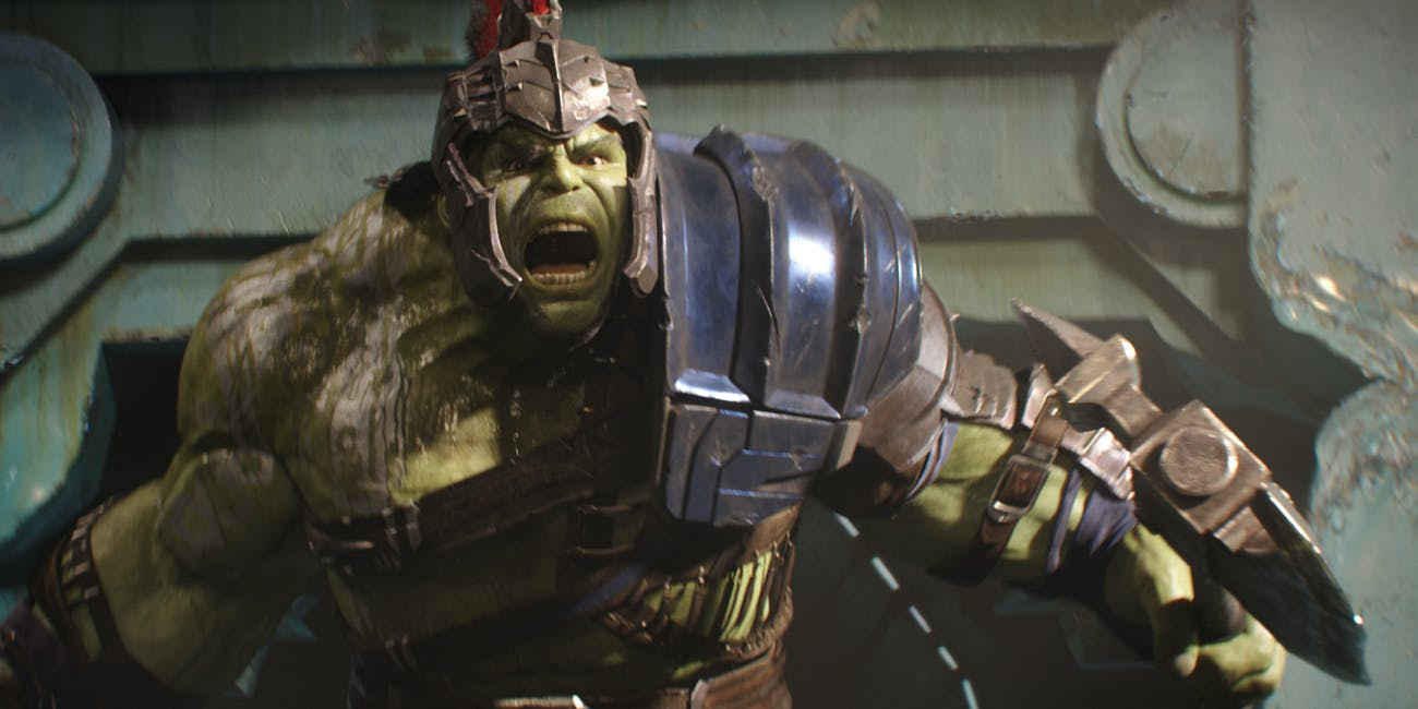Thor Ragnarok Hulk VFX