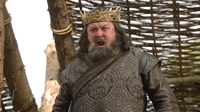 Supposedly, Bob Baratheon used to be quite the looker.