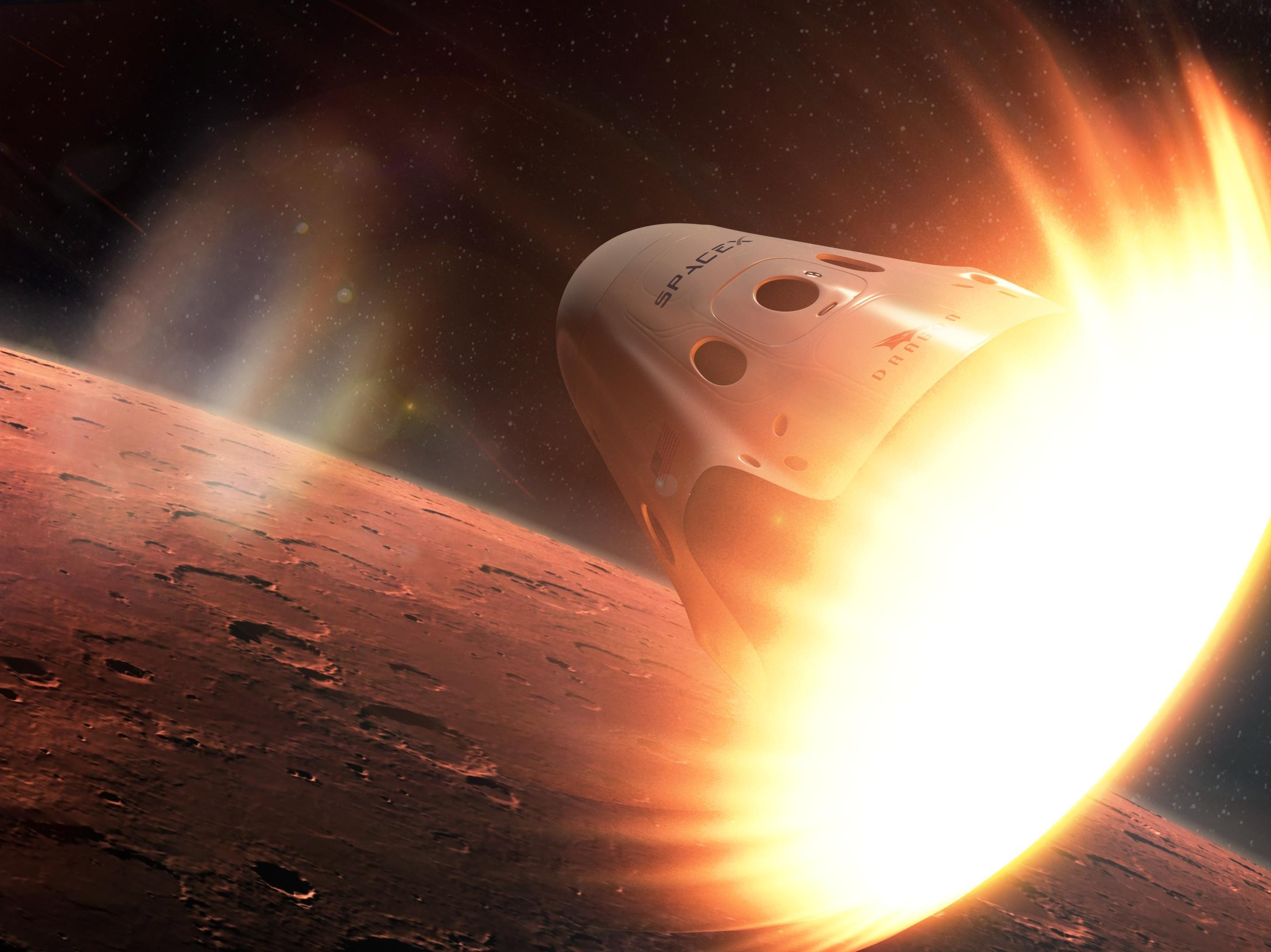 NASA: No, We're Not Racing SpaceX to Mars