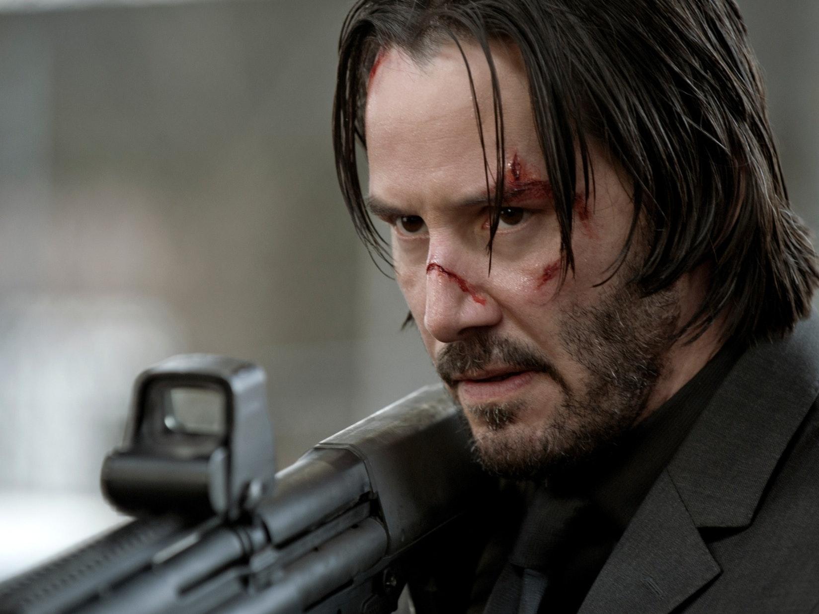 Keanu Reeves Is Back in 'John Wick 2' Set Photos